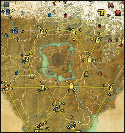 Cyrodiil PVP Map