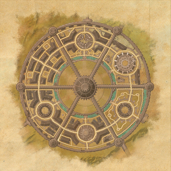Imperial City Map