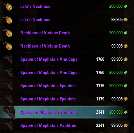 Undaunted sets for alliance points gold eso academy undaunted monster mask shoulders for ap gold forumfinder Gallery