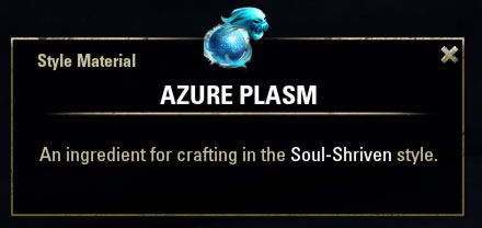 Soul Shriven Style Material Azure Plasm