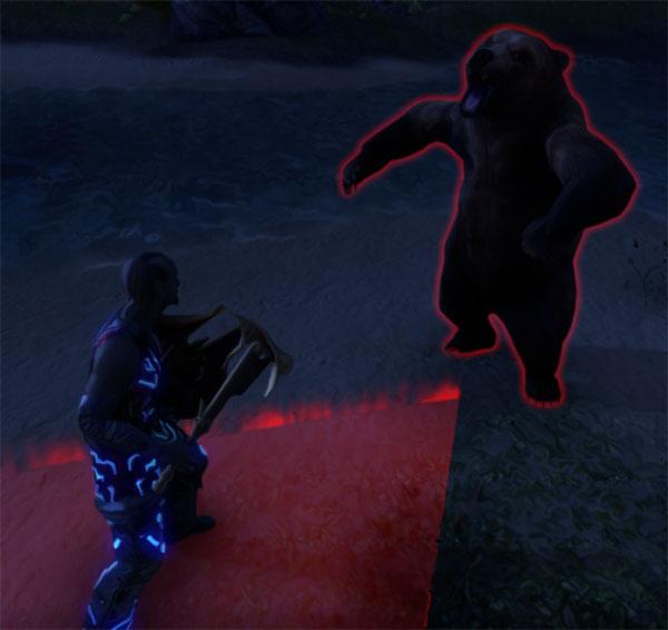 Red Circles Monster Mechanics