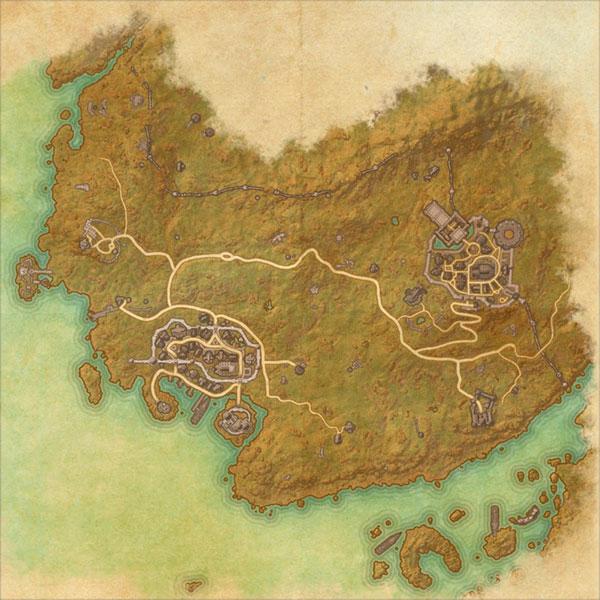 The Gold Coast Map