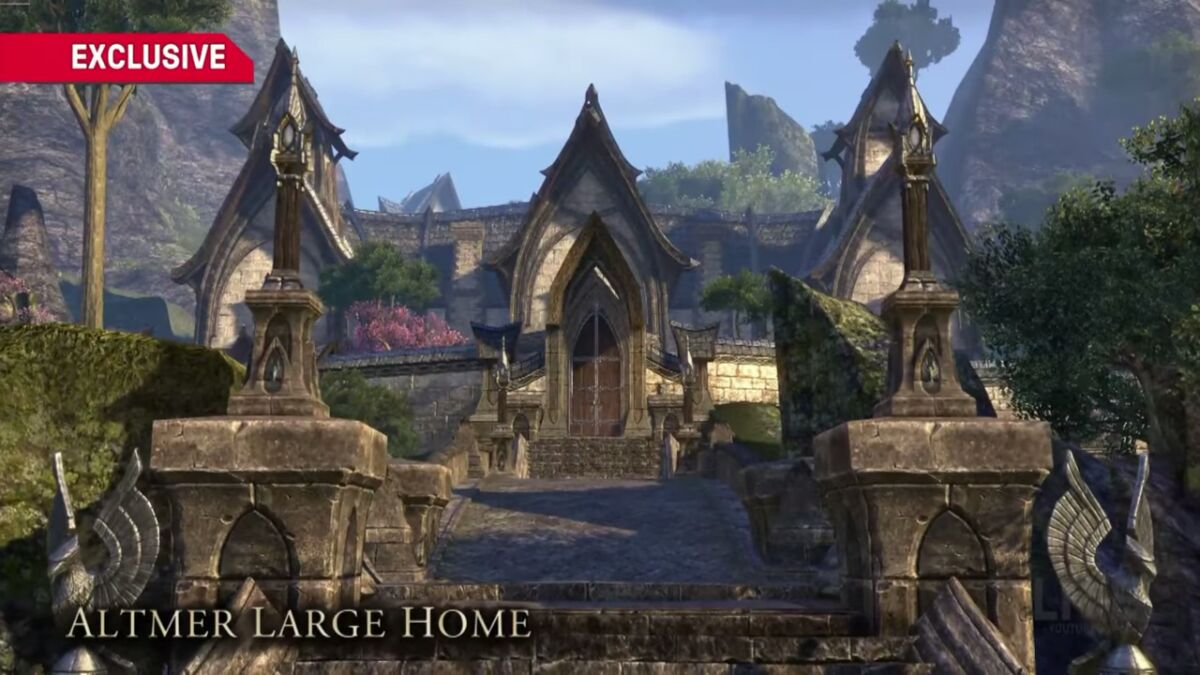 Mathiisen manor altmer large eso academy for Best house designs skyrim