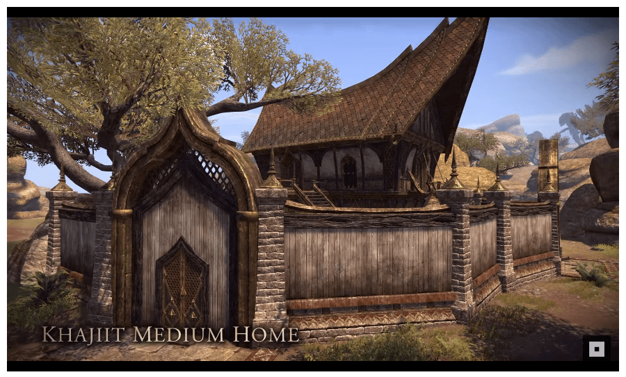 Khajiit Medium Home