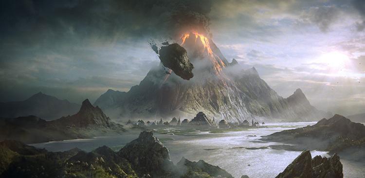 Morrowind Vvardenfell
