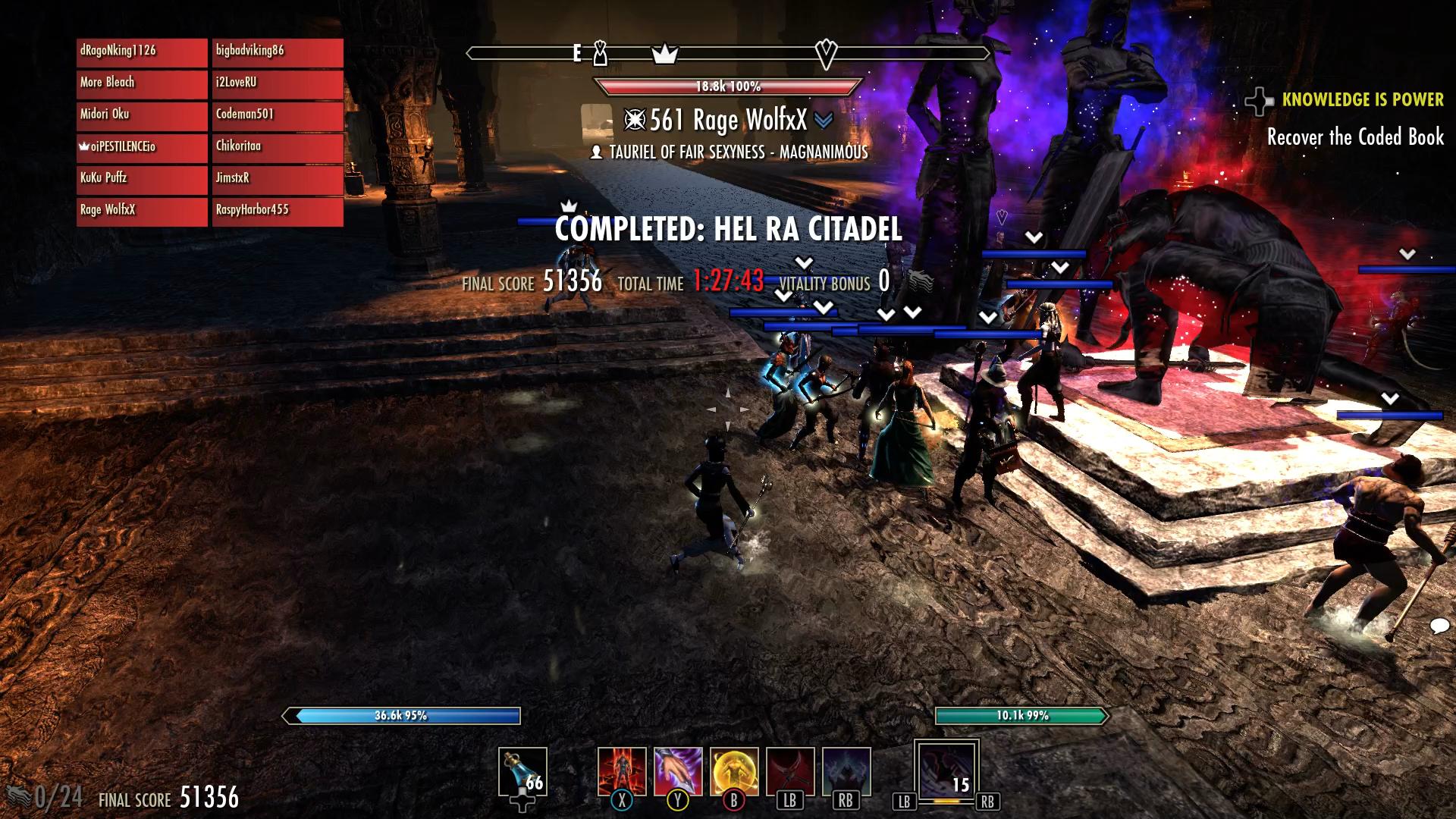 Magicka Night blade v2