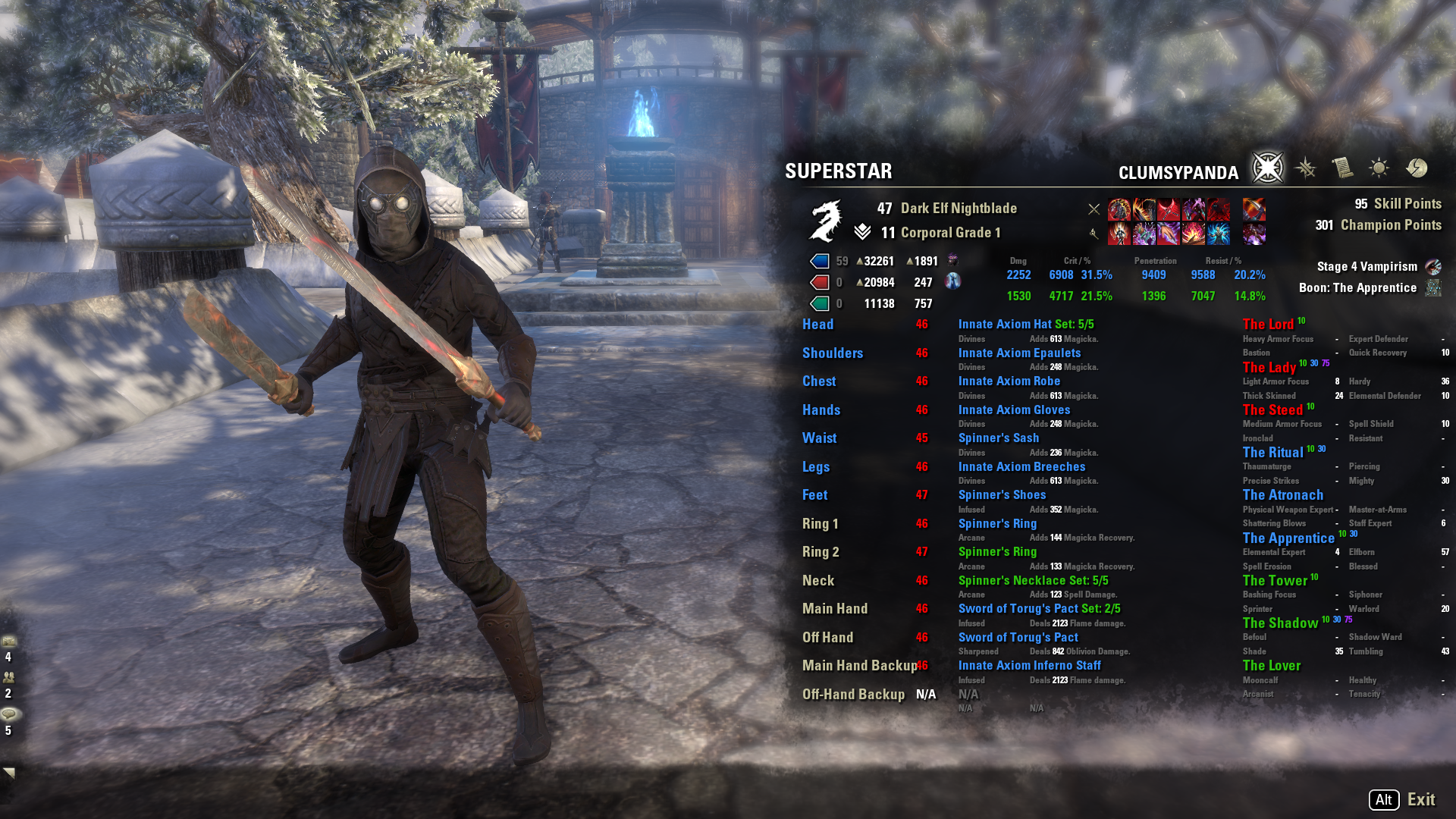 Fire Assassin (PVP build under level 50)