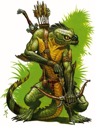 The Reptilian Ranger from the Rift.