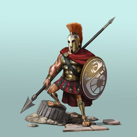 The Spear Man