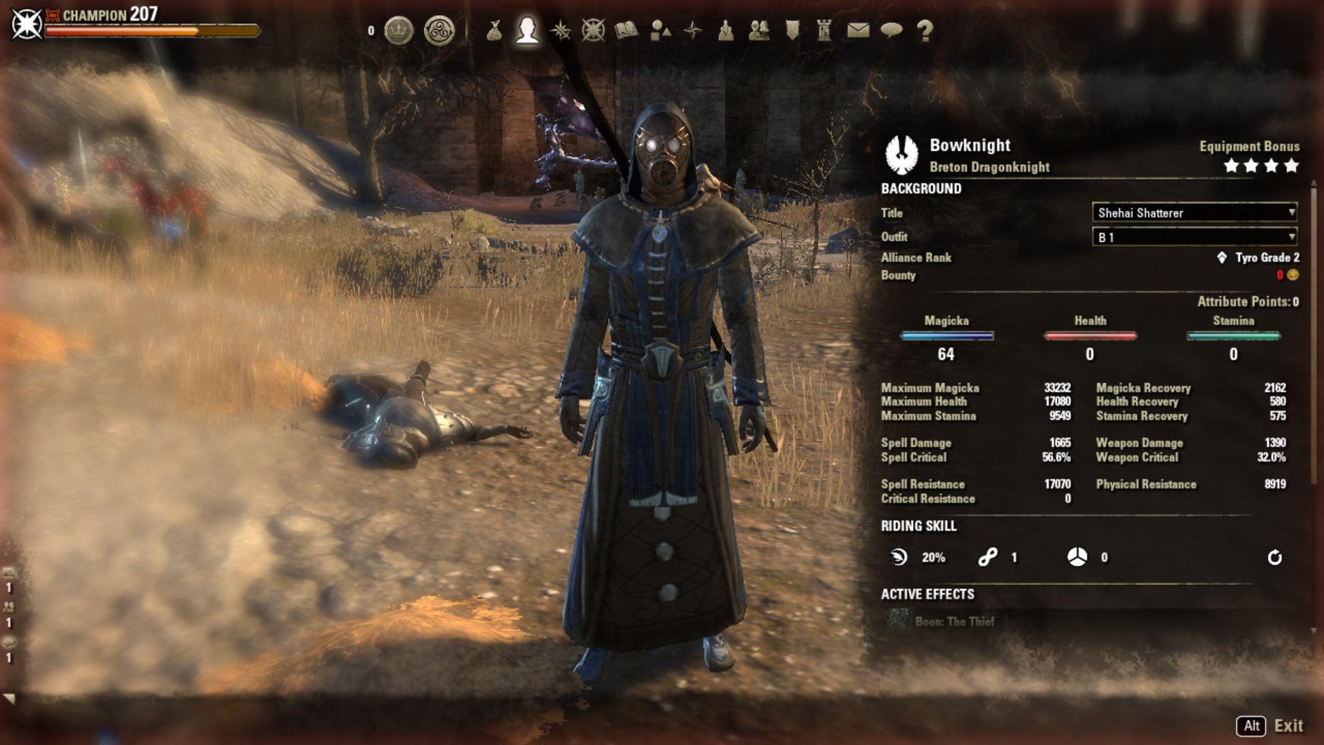 "Dragonknight Healer Build PvE for Elder Scrolls Online ""BowKnight"""